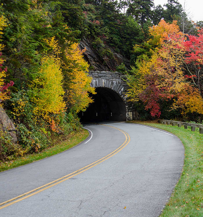 blue ridge parkway at asheville