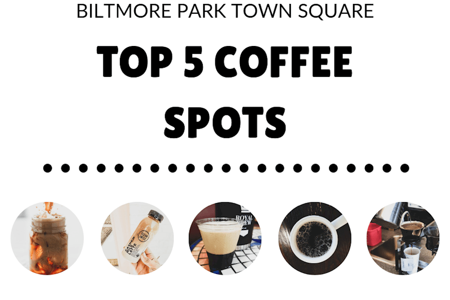 top 5 coffee spots