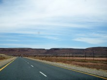 On the way to Namibia