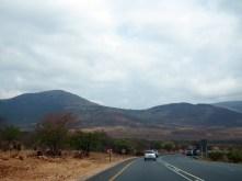 On the way to Pretoria