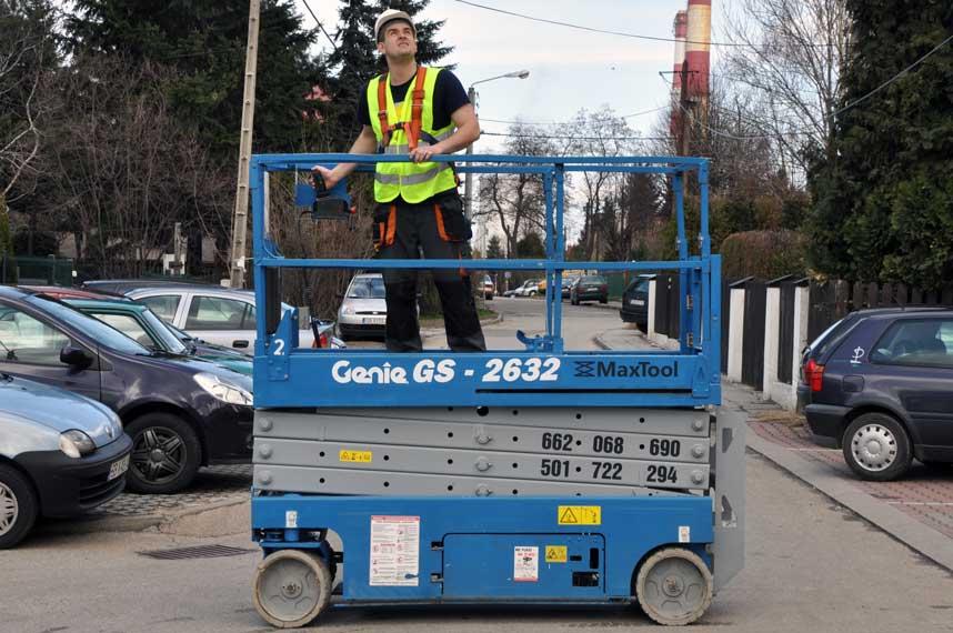 Wynajem operatorów maszyn budowlanych