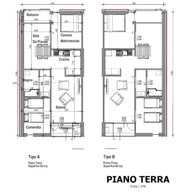 Casa di ringhiera progetti famosi disegni e modelli 3D da scaricare  BibLusBIM
