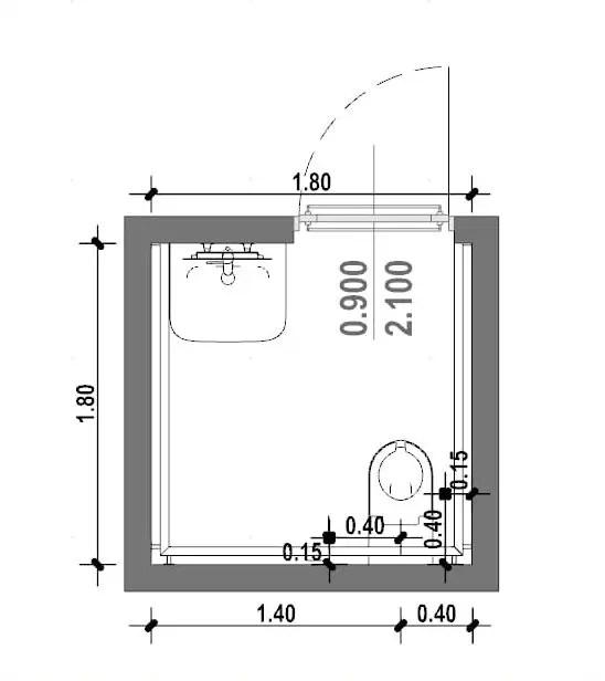 Come progettare un bagno per disabili norme e caratteristiche  BibLusBIM