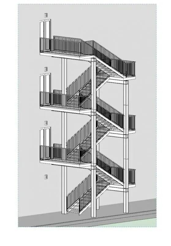 Progettazione scale antincendio linee guida norme