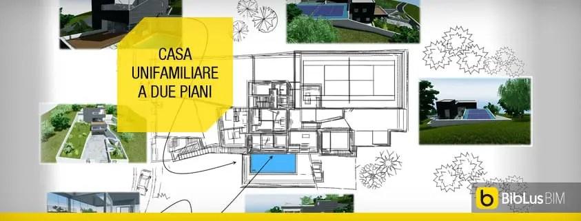 Cerca tutti i prodotti, i produttori ed i rivenditori di tende da sole autocad: Ecco Un Progetto Di Casa Unifamiliare A Due Piani Completo Di Dwg Da Scaricare Biblus Bim