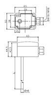 Duct Temperature Sensor On Fr. Sauter AG