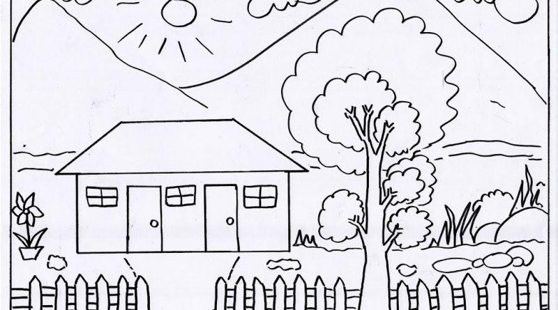 Gambar Mewarnai Anak Sd Kelas 5 Mewarnai Cerita Terbaru Lucu Sedih Humor Kocak Romantis