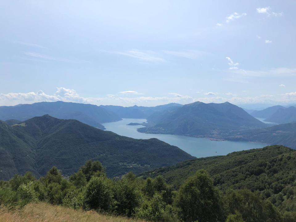 Panorama dal Monte Muggio