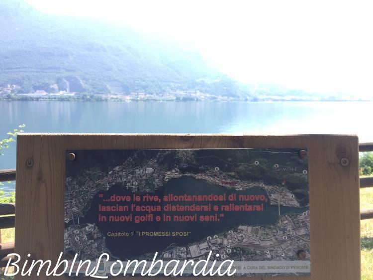 Ciclopedonale dei laghi di Garlate e Olginate
