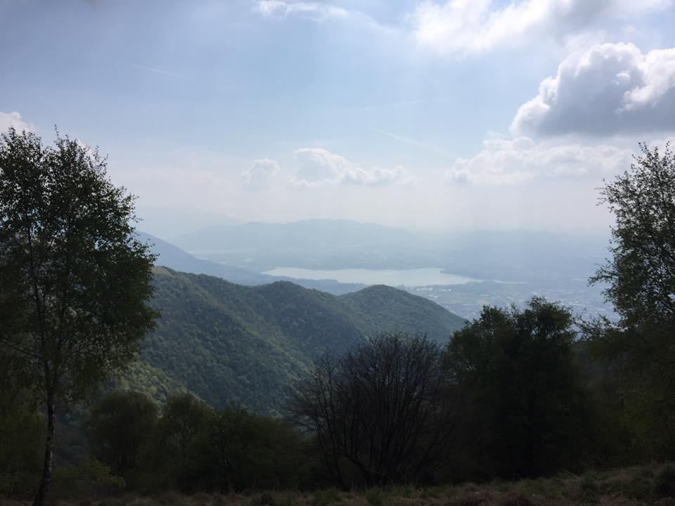 Panorama dal Monte Bolettone