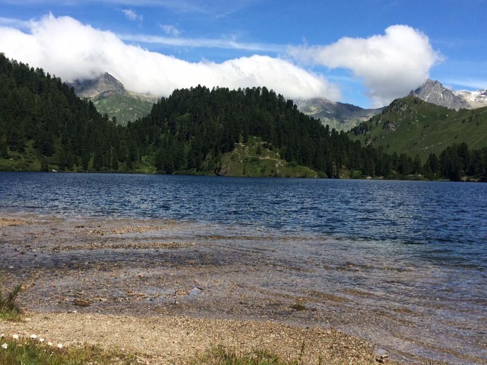 Il lago Cavloc