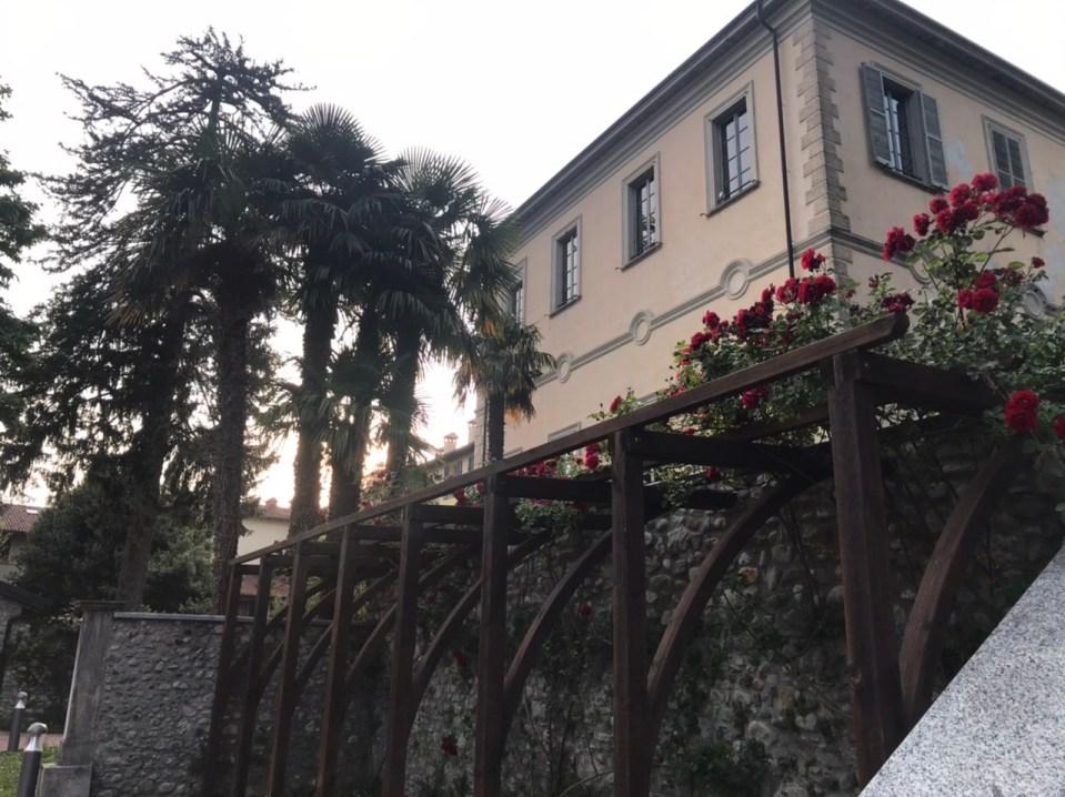Giardini del municipio di Montorfano