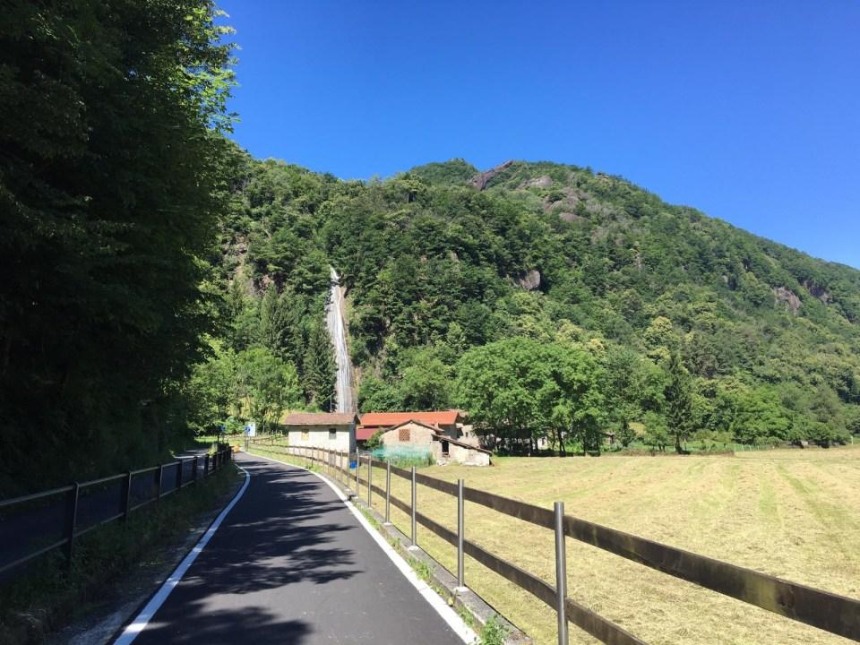 Cascata dello Sprizzotolo Valsassina