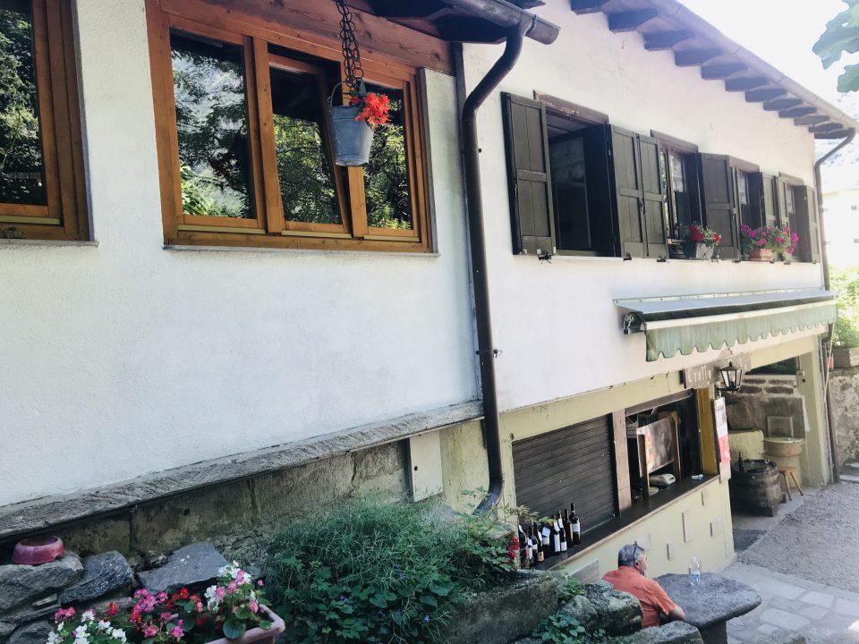 Crotto al Prato a Chiavenna