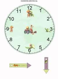 orologio-trenino-dei-dinosauri-stampare - Bambini di prima ...