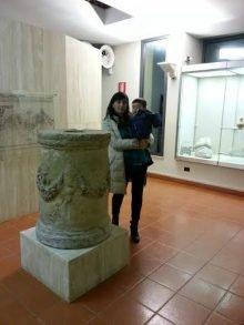 altare di Bubastis all'Antiquarium Turritano.