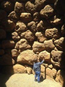 Michele e le mura di Losa