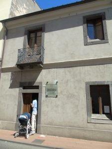 casa museo di Antonio Gramsci a Ghilarza