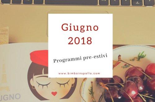 giugno 2018 agenda