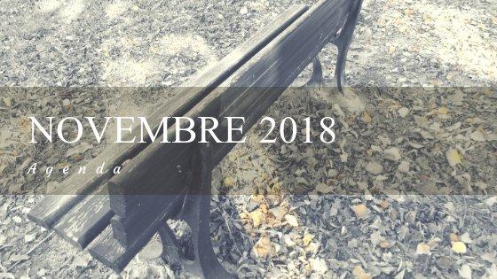 agenda novembre 2018