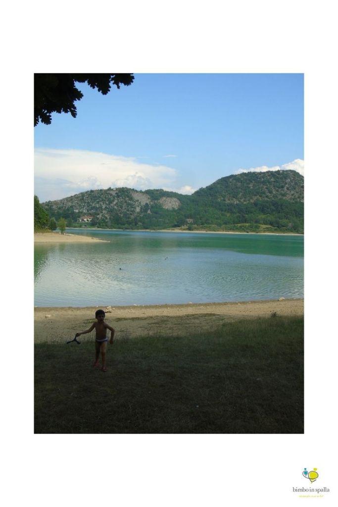 Lago di Castel San Vincenzo vacanze in famiglia in Molise