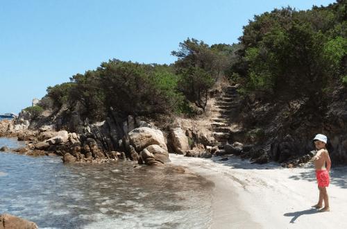 spiaggia di Cala Lunga a La Maddalena