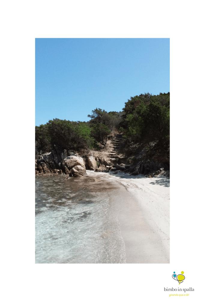 Cala Lunga spiaggia Arcipelago di La Maddalena
