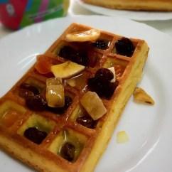 Bimby Kitchen Robot Bamboo Flooring In Waffles Com Mel E Frutos Secos – Bimbyworld