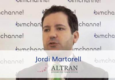 Entrevista a Jordi Martorell - Altran Solutions - BIMEXPO 2018