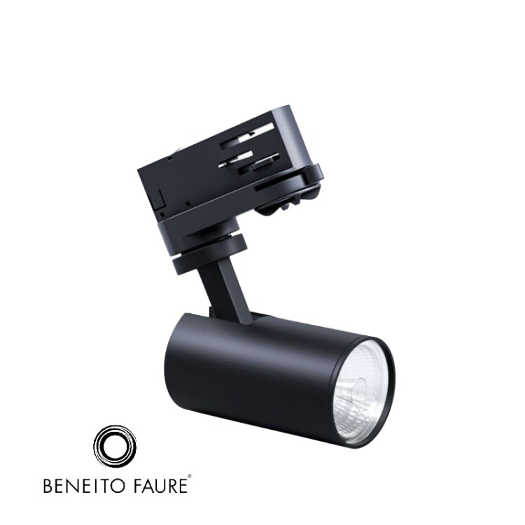PICOLO BLACK ALUMINIUM 95W 100 240V 15 38 60 LED PHILIPS PROYECTOR PARA CARRIL 1 1 bim bimetica 1