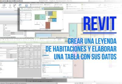 foto portada Revit Autodesk ® para crear una leyenda de los locales y elaborar las informaciónes dimensional en las Schedules bimchannel - domeneco