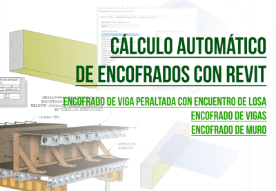 Calculo automatido de encofrados en revit tutorial - bimchannel