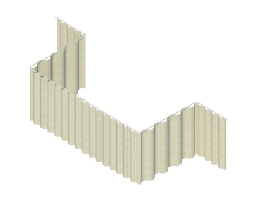 Riel Manual  RM09 en C con Extensión Lineal lateral