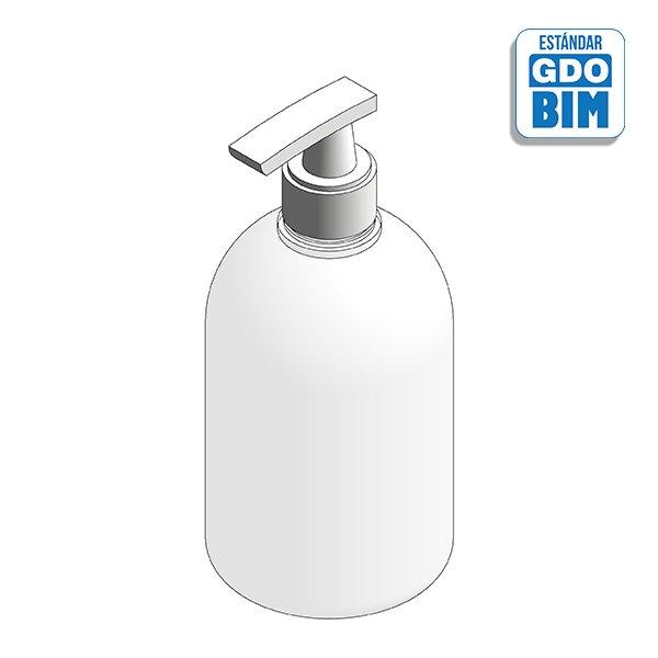 Dispensador Gel hidroalcohólico higienizante de manos 500ml