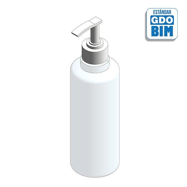 Dispensador de hospital ideal para camillas - Gel desinfección líquido