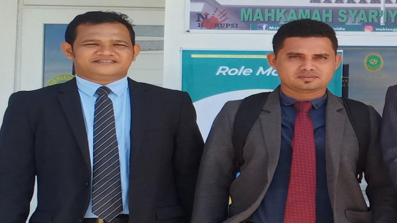 YLBH AKA Distrik ABDYA Dampingi Ketua Forum KMBSA