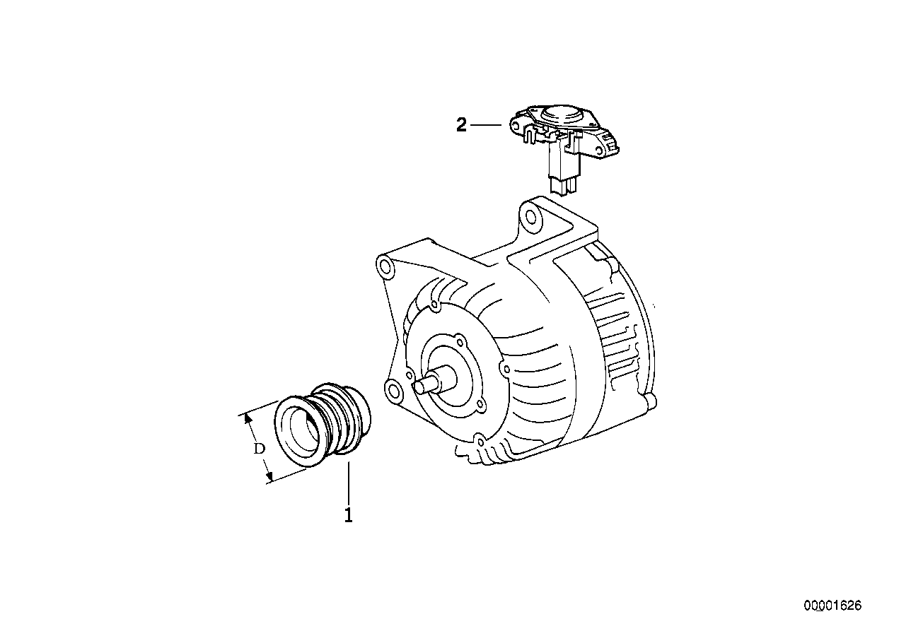Reyhan Blog: Bosch Alternator Parts Diagram
