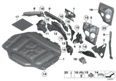 Show all parts for option S609A BMW 52632