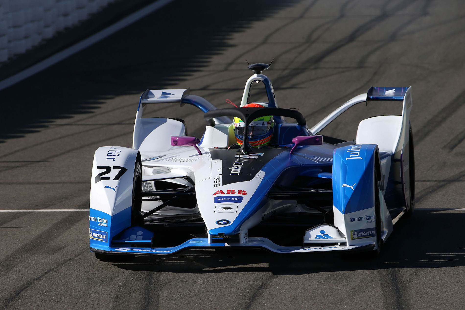 Bmw Ife.18 Race Car Set For First Race Appearance In Formula E Championship