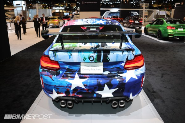 Bmw M2 Art Wrap Car 2018 Chicago Auto Show