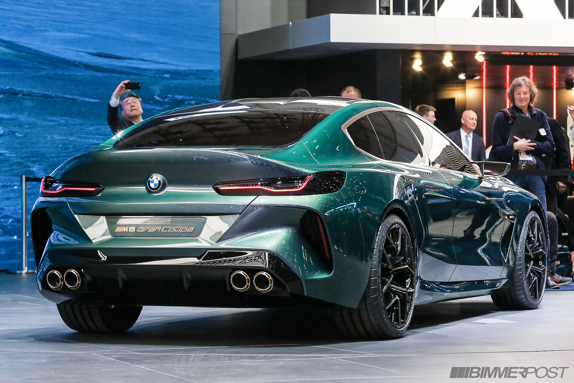 hight resolution of bmw m8 gran coupe concept at geneva