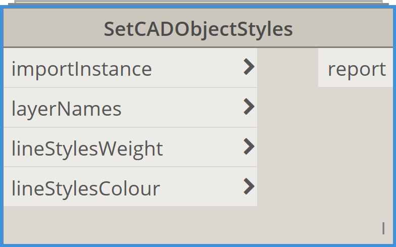 Bimorph Nodes SetCADObjectStyles Dynamo BIM Package for Revit