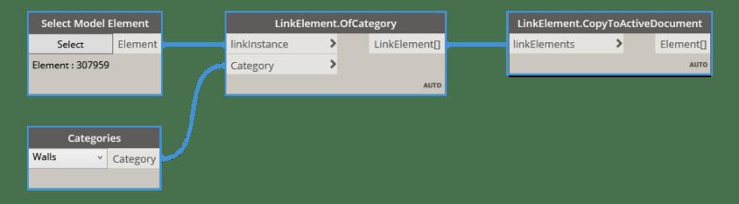 BimorphNodes v3.0 Link Element Copy To Active Document user guide