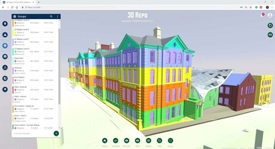 Latest up-gradation to 3D Repo offers native Revit file support