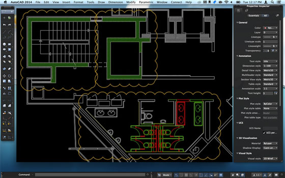 New 2019 versions of AutoCAD for the Apple macOS platform are launched by Autodesk