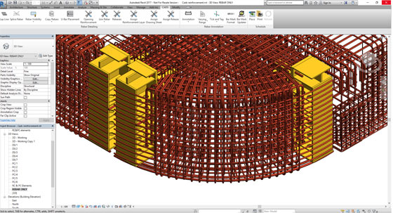 Details of CADS RC3D for Revit