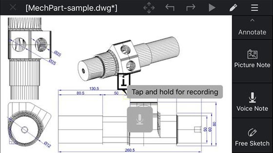 Corel introduced CorelCAD Mobile for iPhone and iPad