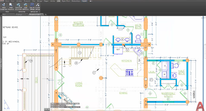Demo of design view enhancements in AutoCAD 2018