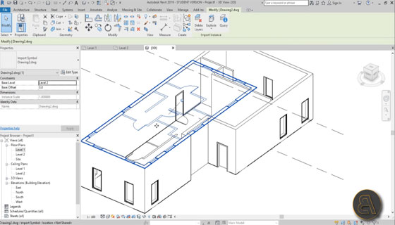 How to import AutoCAD files into Revit