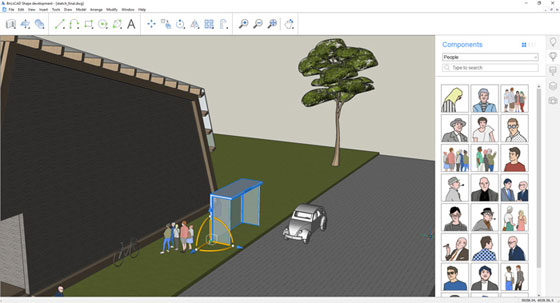 Shape – A new sketchUp-like .dwg-based conceptual modeling software will be launched soon
